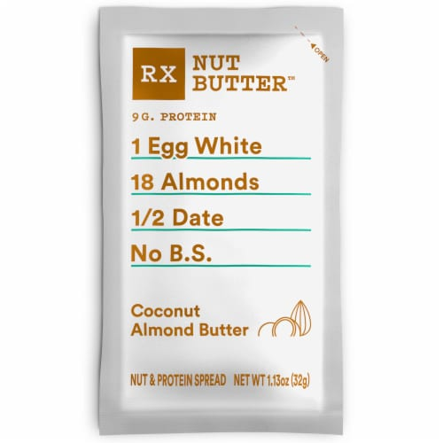RXBAR Nut Butter Coconut Almond Butter Perspective: front