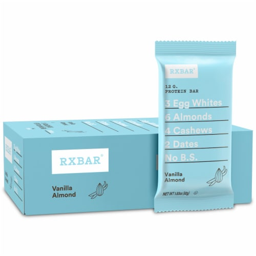 RXBAR Vanilla Almond Protein Bars Perspective: front