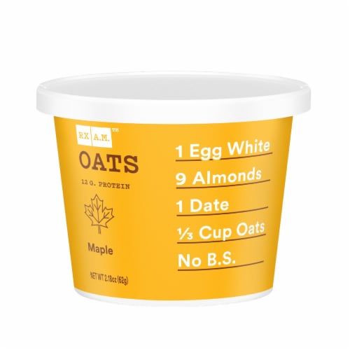 RX A.M. Gluten-Free Oats Maple Oat Cup Perspective: front