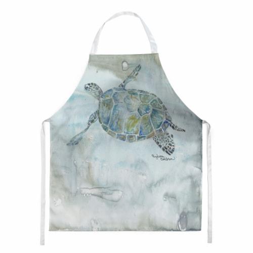 Carolines Treasures  SC2006APRON Sea Turtle Watercolor Apron Perspective: front