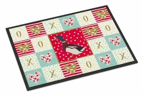 Kroger Carolines Treasures Ck5283jmat Rouen Duck Love Indoor Or Outdoor Mat 24x36 24hx36w