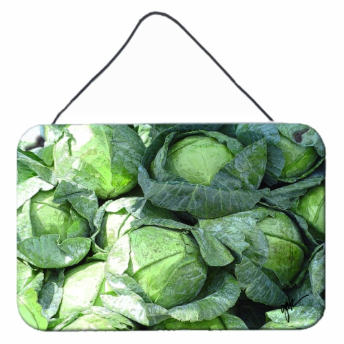 Carolines Treasures  GAK1016DS812 Cabbage by Gary Kwiatek Wall or Door Hanging P Perspective: front
