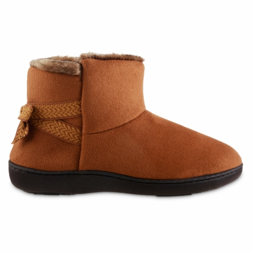 Isotoner® Women's Nelly Boot Slippers Perspective: front