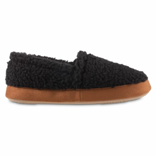 Isotoner® Happy Sheep Berber A-line Slippers Perspective: front