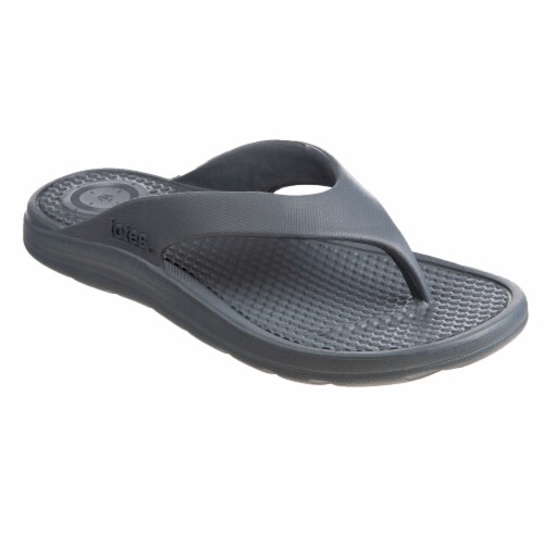 Totes Mens Sol Bounce Ara Thong Sandals - Mineral Perspective: front