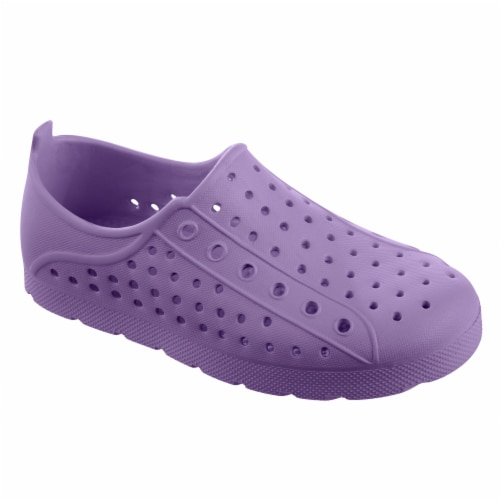 Totes Kid's Eyelet Sneaker - Paisley Purple Perspective: front