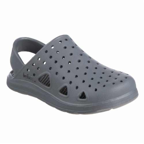 Totes Kid's Splash & Play Clogs - Mineral Perspective: front