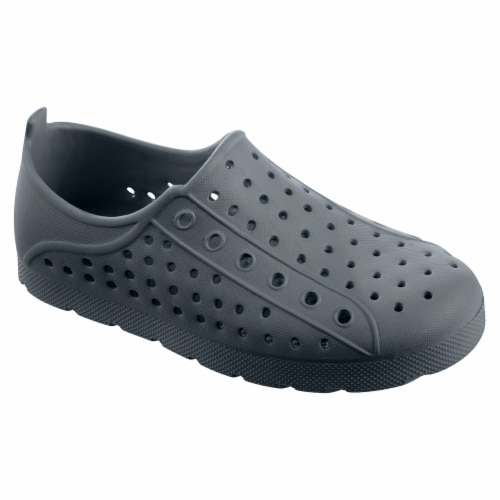 Totes Kid's Eyelet Sneaker - Mineral Perspective: front