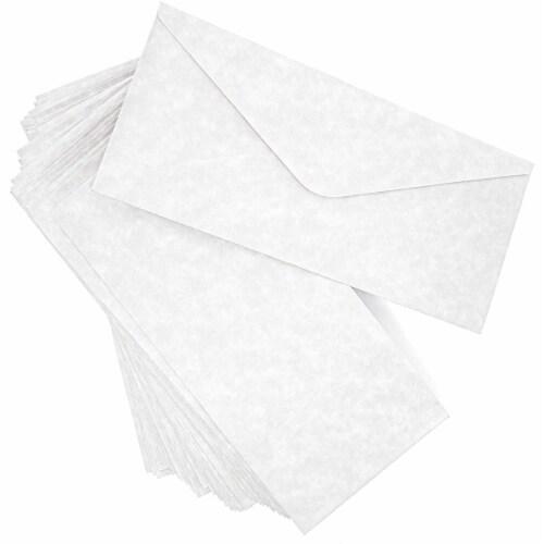 Juvale Parchment Paper Envelopes (48 Count), Gray Perspective: front