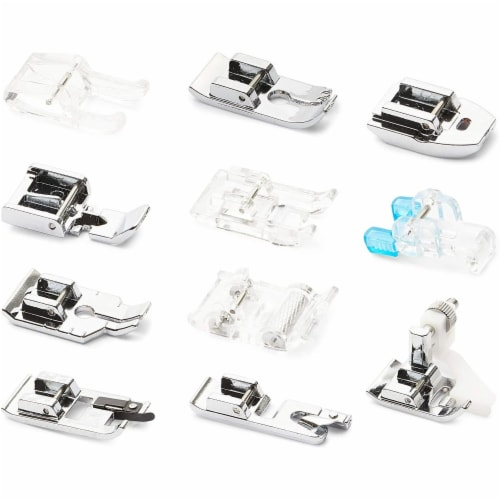 Presser Feet for Sewing Machines, Sewing Foot Kit (11 Pieces) Perspective: front