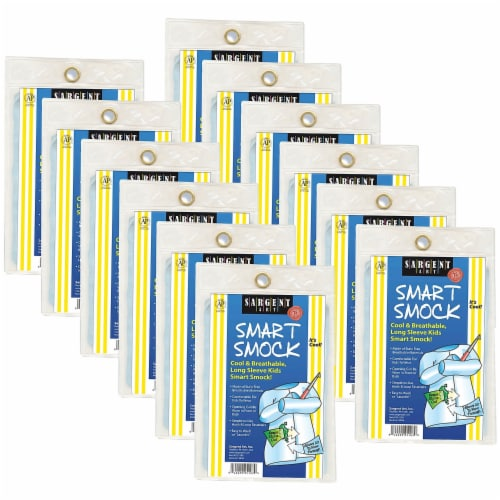 Sargent Art SAR225103-12 Smart Smock - 12 Each Perspective: front