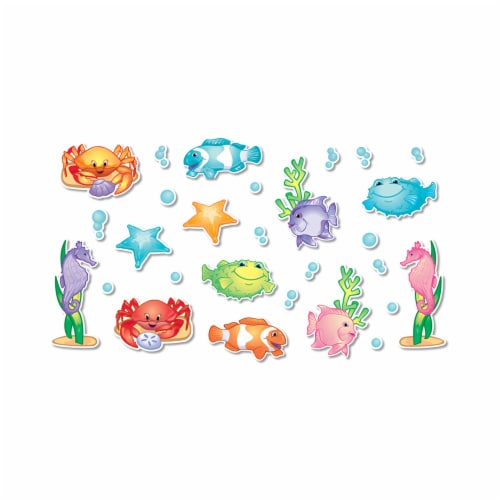 North Star Teacher Resource NST3200-6 Bulletin Board Accents Under The Sea - Pack of 6 Perspective: front