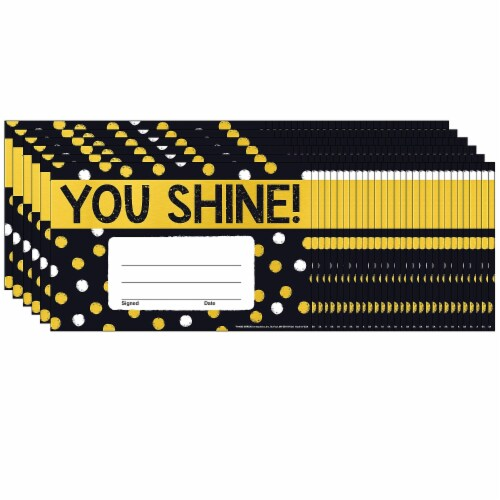 Trend Enterprises T-81085-6 You Shine Dots Recognitn Awards - Pack of 6 Perspective: front