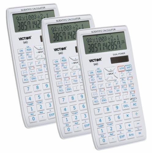 Victor 940 Scientific Calculator with 2 Line Display Perspective: front