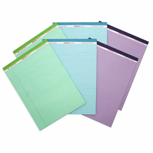 Roaring Spring Paper Products Standard Legal Pads - Assorted Perspective: front