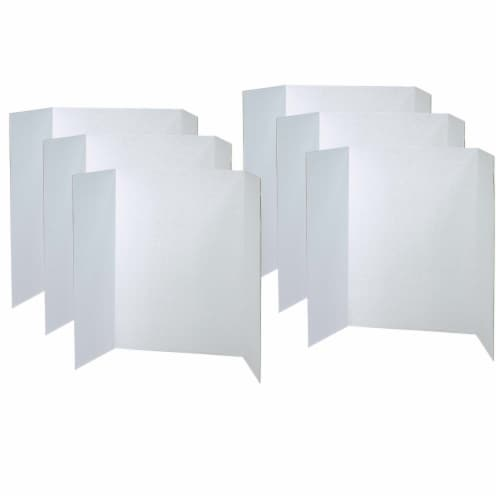 Pacon® Presentation Board - 6 Pack - White Perspective: front