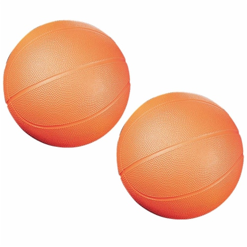 Coated High Density Foam Basketball, Size 3, Pack of 2 Perspective: front