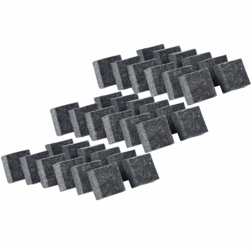 Charles Leonard Inc 2-Inch Multi-Purpose Felt Erasers - 3 Pack Perspective: front