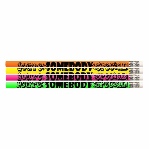 You're Somebody Special Motivational Pencil, 12 Per Pack, 12 Packs Perspective: front
