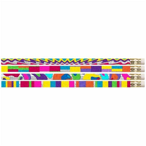 Watercolors Motivational/Fun Pencils, 12 Per Pack, 12 Packs Perspective: front