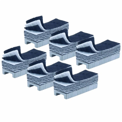 Whiteboard Eraser, Peel Away Layers, 5  Felt, Pack of 6 Perspective: front