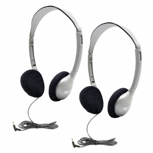 Personal On-Ear Stereo Headphone, Pack of 2 Perspective: front