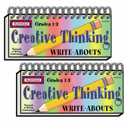 Creative Thinking Write-Abouts, Grade 1-3, Pack of 2 Perspective: front