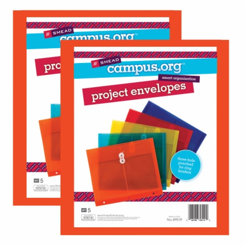 Smead Poly Project Envelopes Perspective: front