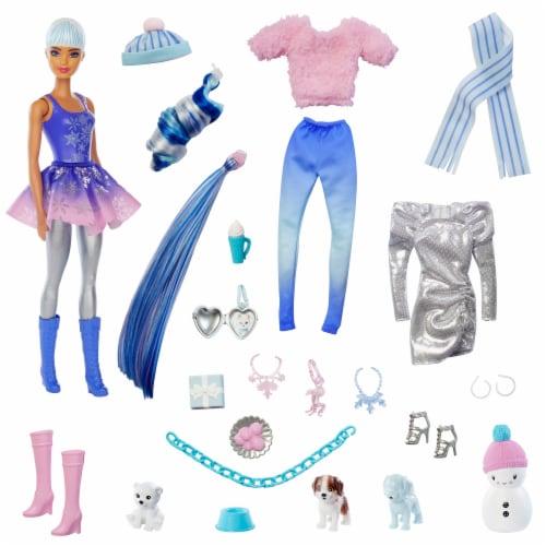 Mattel Barbie® Color Reveal Advent Calendar Perspective: front