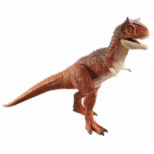 Mattel Jurassic World Colossal Carnotaurus Toro Dinosaur Perspective: front