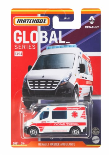 MATCHBOX® Global Series Assorted Vehicles Perspective: front