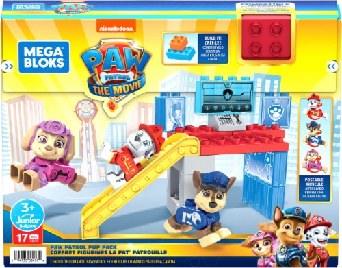 Mega Bloks® Paw Patrol Pup Pack Building Toy Perspective: front