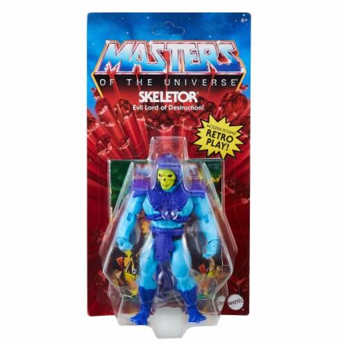 Mattel Masters of the Universe Origins Skeletor Action Figure Perspective: front