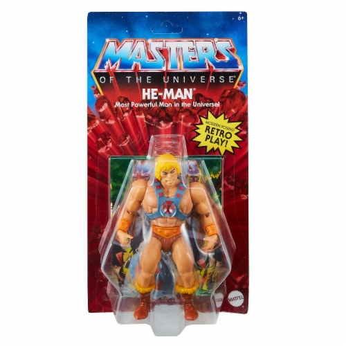 Mattel Masters of the Universe Origins He-Man Action Figure Perspective: front