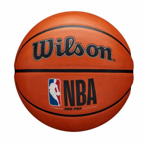 Wilson Sporting Goods NBA DRV PRO Basketball - Orange/Black Perspective: front