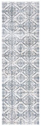 Safavieh Martha Stewart Collection Isabella Floor Runner Rug - Cream/Gray Perspective: front