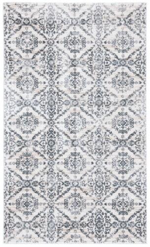 Safavieh Martha Stewart Collection Isabella Accent Rug - Cream/Gray Perspective: front