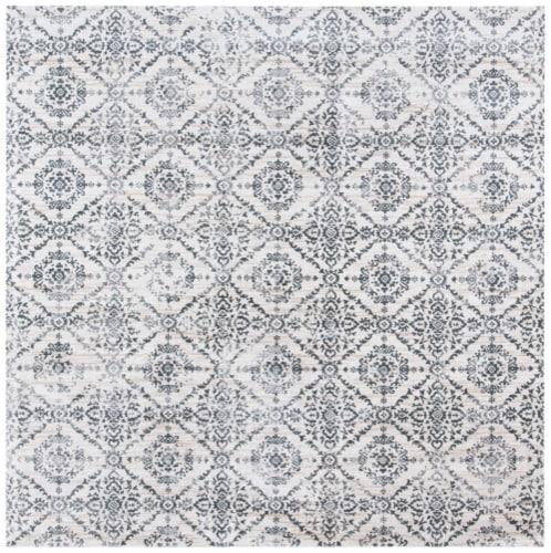Safavieh Martha Stewart Isabella Square Rug - Cream/Gray Perspective: front