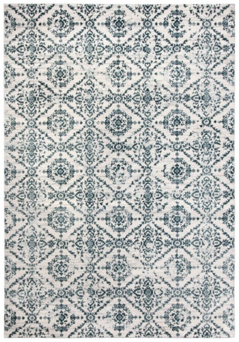 Safavieh Martha Stewart Collection Isabella Area Rug - Navy/Ivory Perspective: front