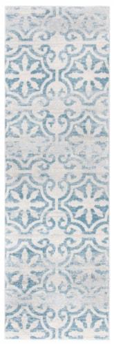 Safavieh Martha Stewart Isabella Rug - Turquoise/Ivory Perspective: front