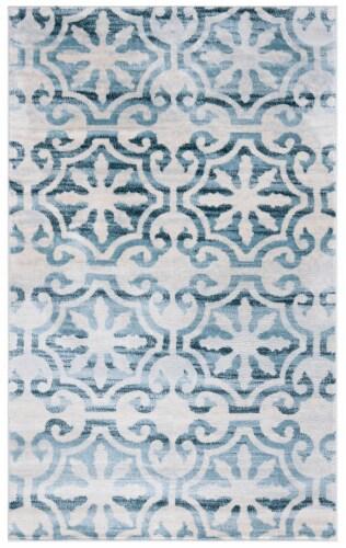 Safavieh Martha Stewart Isabella Accent Rug - Navy/Ivory Perspective: front