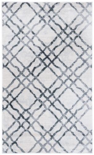 Martha Stewart Isabella Rug - Ivory/Gray Perspective: front