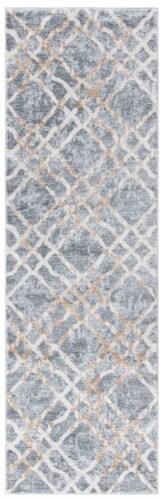 Safavieh Martha Stewart Isabella Rug - Silver/Ivory Perspective: front