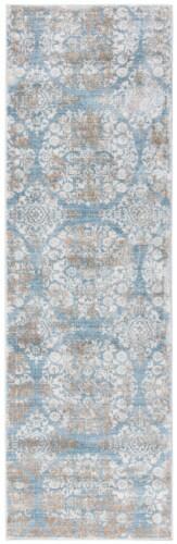 Safavieh Martha Stewart Isabella Rug - Denim Blue/Ivory Perspective: front