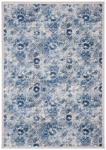 Safavieh Martha Stewart Brentwood Area Rug - Cream/Blue Perspective: front