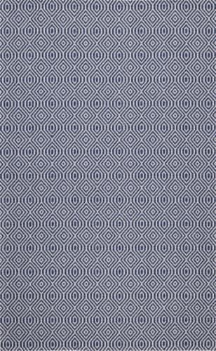 Safavieh Martha Stewart Cotton Area Rug - Blue/Gray Perspective: front