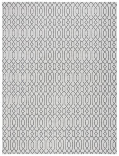Safavieh Martha Stewart Cotton Area Rug - Silver/Gray Perspective: front
