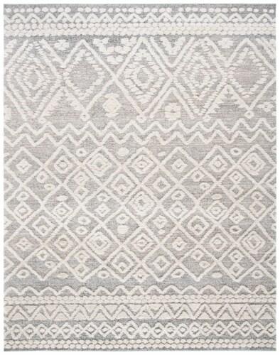 Safavieh Martha Stewart Collection Lucia Shag Area Rug - Beige/White Perspective: front