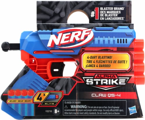 Nerf Alpha Strike Claw QS-4 Blaster Perspective: front