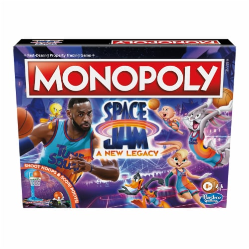 Hasbro Gaming Monopoly: Space Jam: A New Legacy Edition Perspective: front
